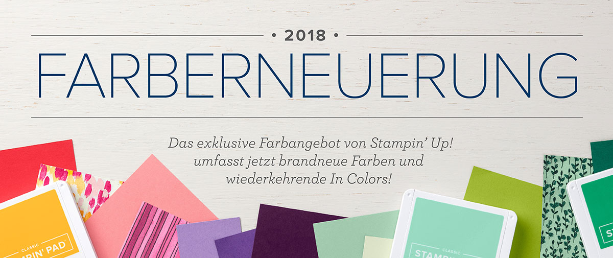 more-than-paper.de | Farberneuerungen bei Stampin Up :-)!